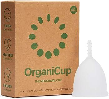 OrganiCup Mini Menstrual Reusable Period Cup