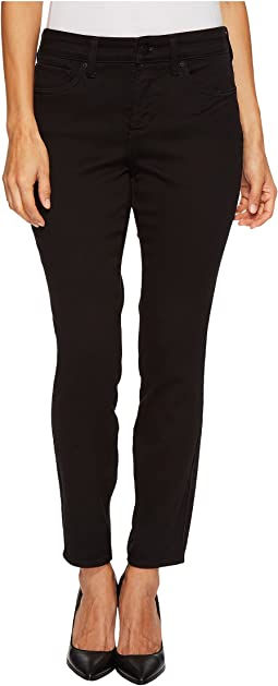 NYDJ Petite Petite Ami Skinny Legging Jeans in Super Sculpting Denim in Black