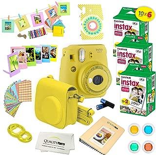 Fujifilm instax Mini 9 Deluxe fujifilm instax Mini 60 Sheets Yellow
