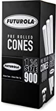 Futurola - Unrefined Super Thin Pre Rolled Cones - (900, 1 1/4 - White)