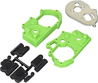RPM Hybrid Gearbox Housing and Rear Mounts for Traxxas 2WD Electric, Green