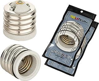 E40 till E27-adapter uttagsadapter för E27-glödlampor och E40-sockel Edison-gänga RoHS-tråd upp till 250 V och 4 A från IS...