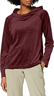 Regatta Women's Kelilah Pullover Hooded Fleece with Two Lower Pockets, Dark Burgundy, 16