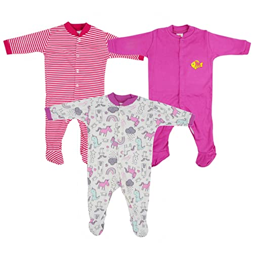 24ddd8bc5a0 Baby Grow New Born Baby Multi-Color Long Sleeve Cotton Sleep Suit Romper  for Boys