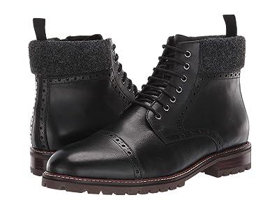 Blondo Kylen Waterproof (Black Leather) Men