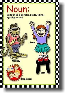 Noun - Classroom Parts of Speech Language Arts Poster