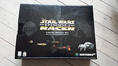 Nintendo 64 System - Video Game Console (Star Wars Episode I Racer Limited Edition Bundle)