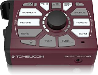 TC-Helicon Vocal Effects Processor, Burgundy (996369005)