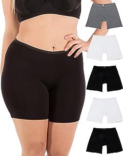 81275d458 B2BODY Women s Regular   Plus Size Stretch Cotton Long Leg 6.5