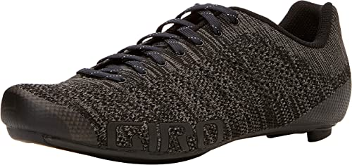Giro Empire E70 Knit Road, Chaussures de Vélo de Route Homme, MultiCouleure (noir Charcoal Heather 000), 44.5 EU