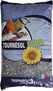 Aimé - Graines de Tournesol - Nourriture pour Oiseaux du Ciel - Source de Protéines et Matière Grasses - Made in France - ...