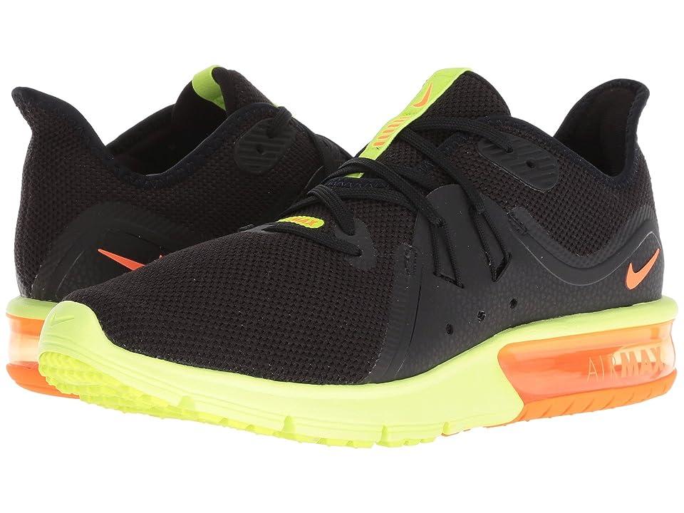 Nike Air Max Sequent 3 (Pure Platinum/Total Orange/Volt) Men