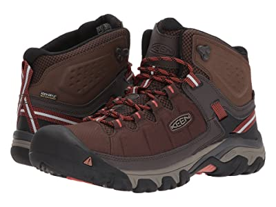 Keen Targhee Exp Mid WP (Mulch/Burnt Ochre) Men