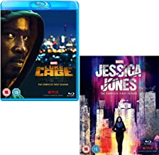 Luke Cage Season 1 - Jessica Jones Season 1 - Marvel 2 Movie Bundling Blu-ray