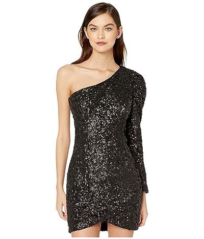 Bardot Abigail Sequin Dress (Black) Women