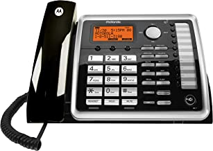 $39 » Motorola ML25260 DECT 6.0 Expandable Corded 2-line Business Phone with Caller ID, Black, Accessory Unit - Corded Handset (...