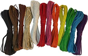 coloured hemp twine