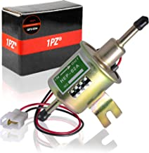 1PZ GP2-E04 Universal 12V 2.5-4 PSI Gas Diesel Inline Low Pressure Electric Fuel Pump HEP-02A for Nissan Suzuki All 12 Volt Cars Trucks Boats & Generators