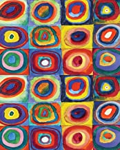 2020 Daily Planner: Wassily Kandinsky - Color Study Squares with Circles Cover Full page a day and schedule at a glance. Inspirational quotes keep you ... students, organ (Full Page a Day Planner)