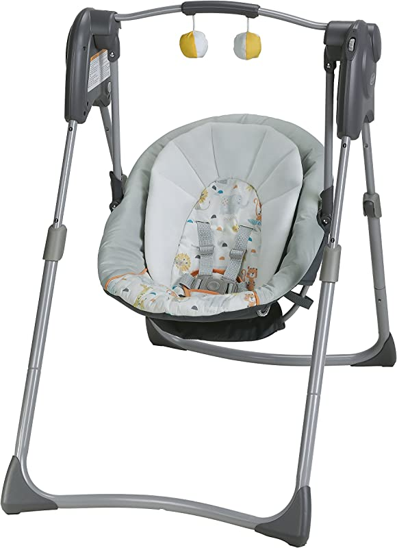 Graco Slim Spaces Compact Baby Swing Linus