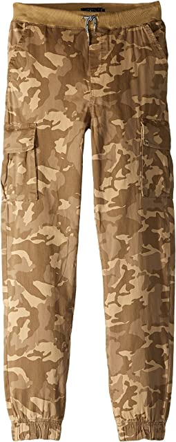 Camo Cargo Jogger Pants (Big Kids)
