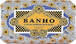 Claus Porto Banho Citron Verbena Soap for Unisex, 12.4 Ounce