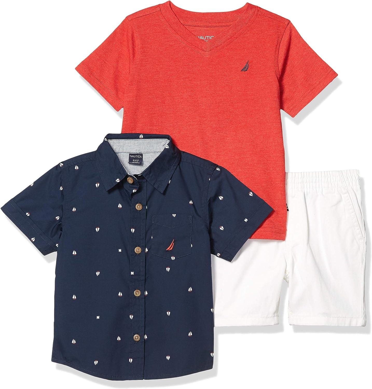 Nautica Sets Boys Shirt Shorts Set KHQ