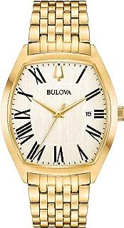 Bulova Men's 97B174 Analog Display Analog Quartz Gold Watch