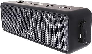 أنكر ساوند كور سلكت مع صوت استيريو صوت عالٍ ،  مدة تشغيل 24 ساعة ، نطاق بلوتوث بطول 66FT , اللون اسود