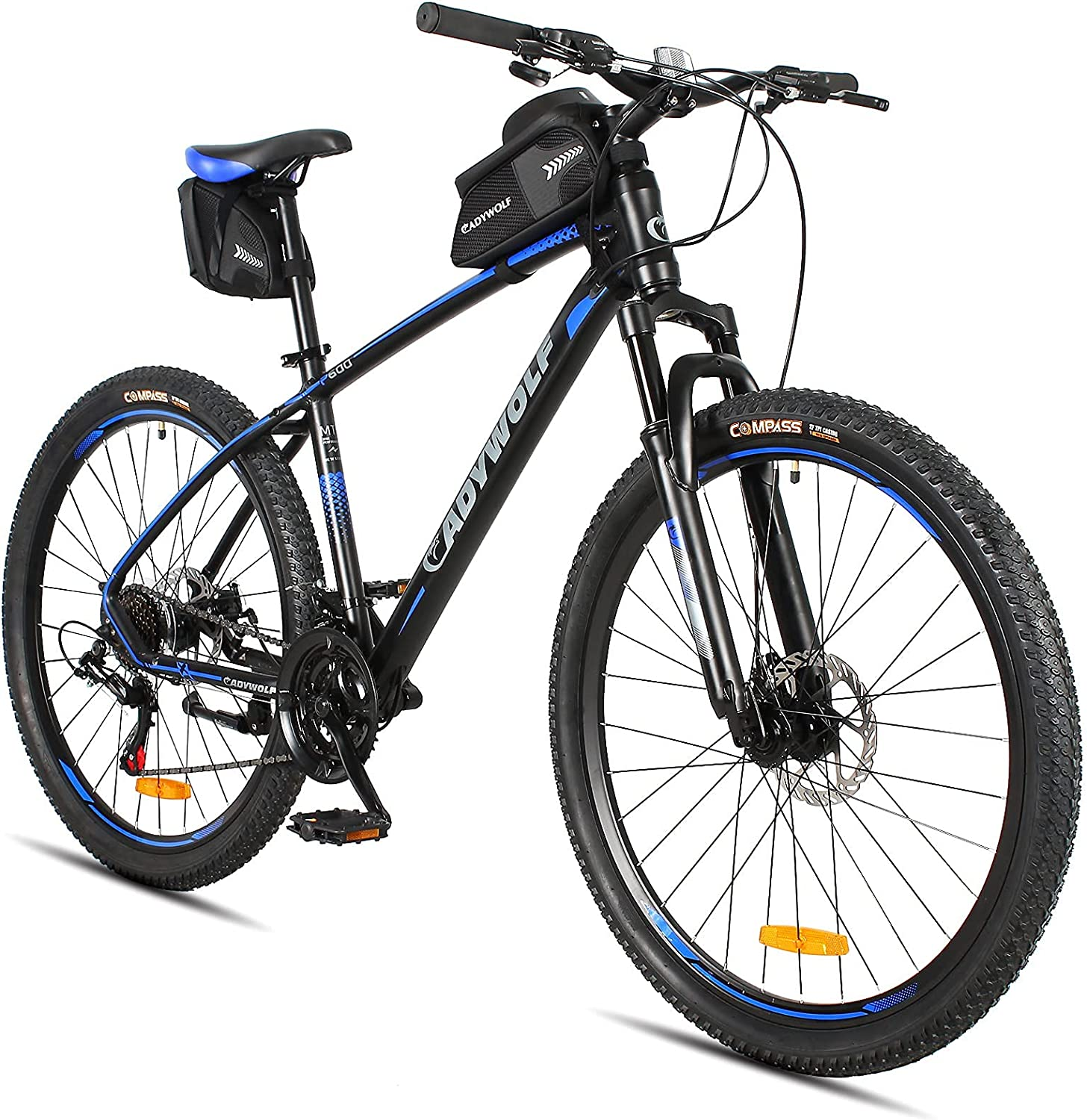 Mountain Bike Aluminum OFFicial mail order Alloy 27.5x17.5 Shimano Spe 21 Frame Same day shipping inch