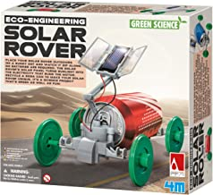 4M Green Science Solar Rover Kit DIY Solar Power, Eco-Engineering STEM Toys Educational Gift for Kids & Teens, Boys & Girls
