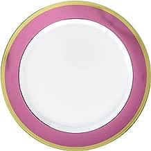 Amscan Premium Plastic Plates Tableware