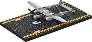 Hot Wings P-38 Lightning with Connectible Runway Die Cast Plane