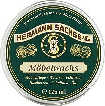 Möbelwachs farblos | Antikwachs natürlich & wirkungsvoll | 125ml in Deutschland hergestellt aus Leinölfirnis Bienenwachs Carnaubawachs | Wachs für Holz - Möbel Holztisch