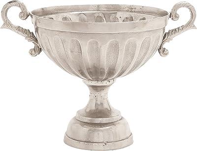 Plutus Brands Amazing and Bold Aluminum Pedestal Bowl