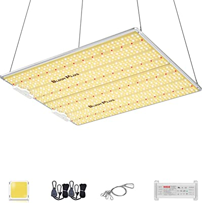 Bloom Plus Dimmable Grow Light BP-4000 5x5ft 6x6ft Coverage Full Spectrum Led Grow Lights with Upgraded SMD LEDs (IR Included) Sunlike Grow Lamp for Indoor Plants Seeding Veg and Bloom 1292pcs LEDs