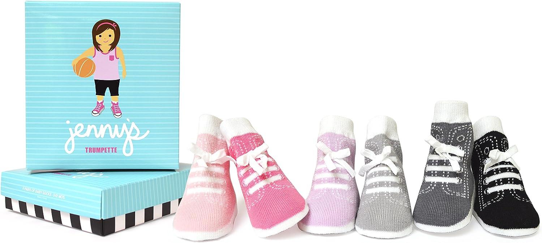 Trumpette Baby Girls Sock Set-6 Pairs
