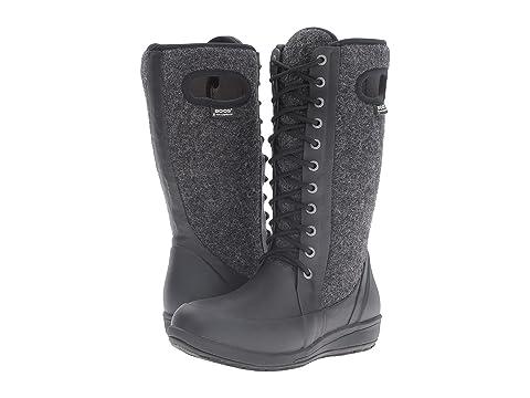 Womens Boots bogs black multi tall cami lace melange zr3d16y0