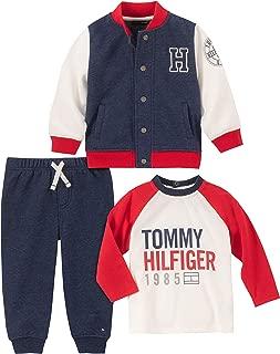 Baby Boys 3 Pieces Jacket Pants Set