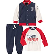 Baby Boys 3 Pieces Jacket Pants Set