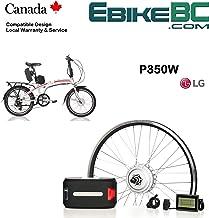 "Electric Folding Bike Conversion KIT for Dahon Tern Brompton Foldable Bicycle 350/500W E Bike Complete Kit Front Hub Motor, Battery Li-Ion 25mph LCD 16"" 20"" 24"" 26"" Rims"