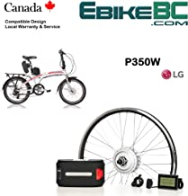 Electric Folding Bike Conversion KIT for Dahon Tern Brompton Foldable Bicycle 350/500W E Bike Complete Kit Front Hub Motor, Battery Li-Ion 25mph LCD 16