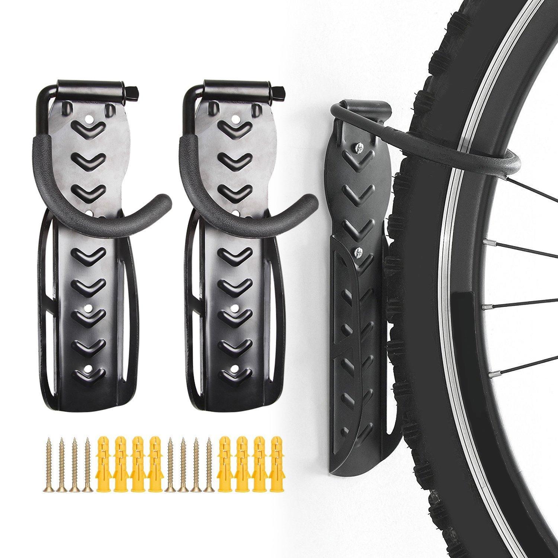 ZWR - Soporte de pared para bicicletas para garaje o garaje ...