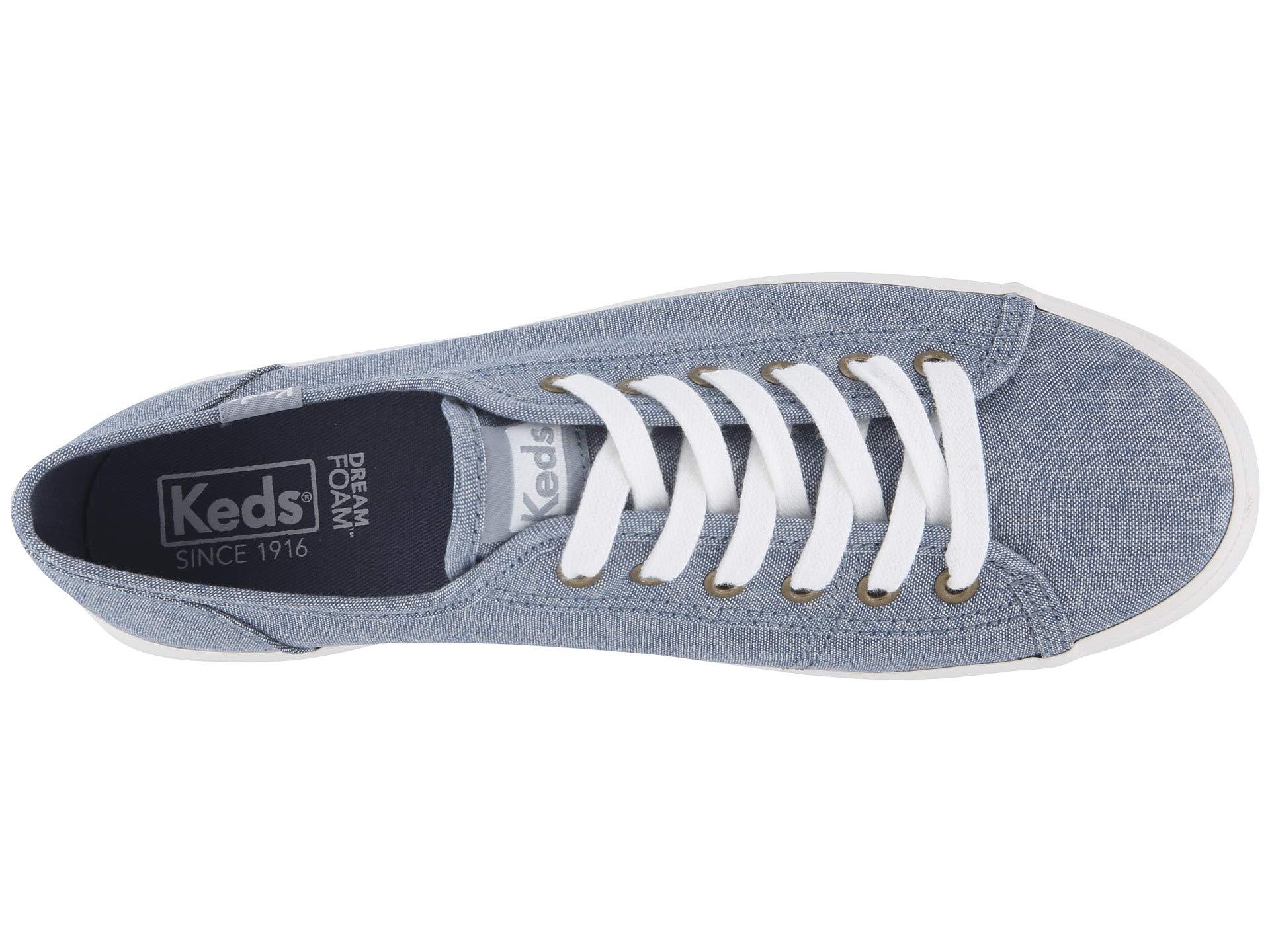 Keds Chambray Keds Kickstart Kickstart Blue 6vvnwg4qxH