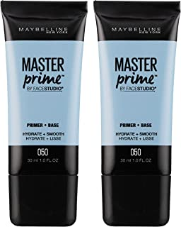 Maybelline New York Facestudio Master Prime Primer Makeup, Hydrate + Smooth, 2 Fluid Ounce