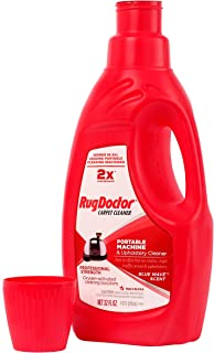 Rug Doctor 041207 Upholstery Cleaning Solution Portable Machine & Upholstery Cleaner, Red, Medium, 32 oz.