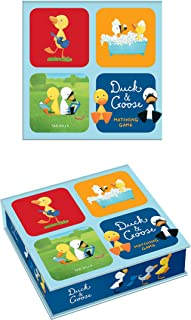 Duck & Goose Matching Game: A Memory Game with 20 Matching Pairs for Children