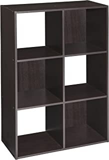 ClosetMaid 4186 Cubeicals Organizer, 6-Cube, Chocolate