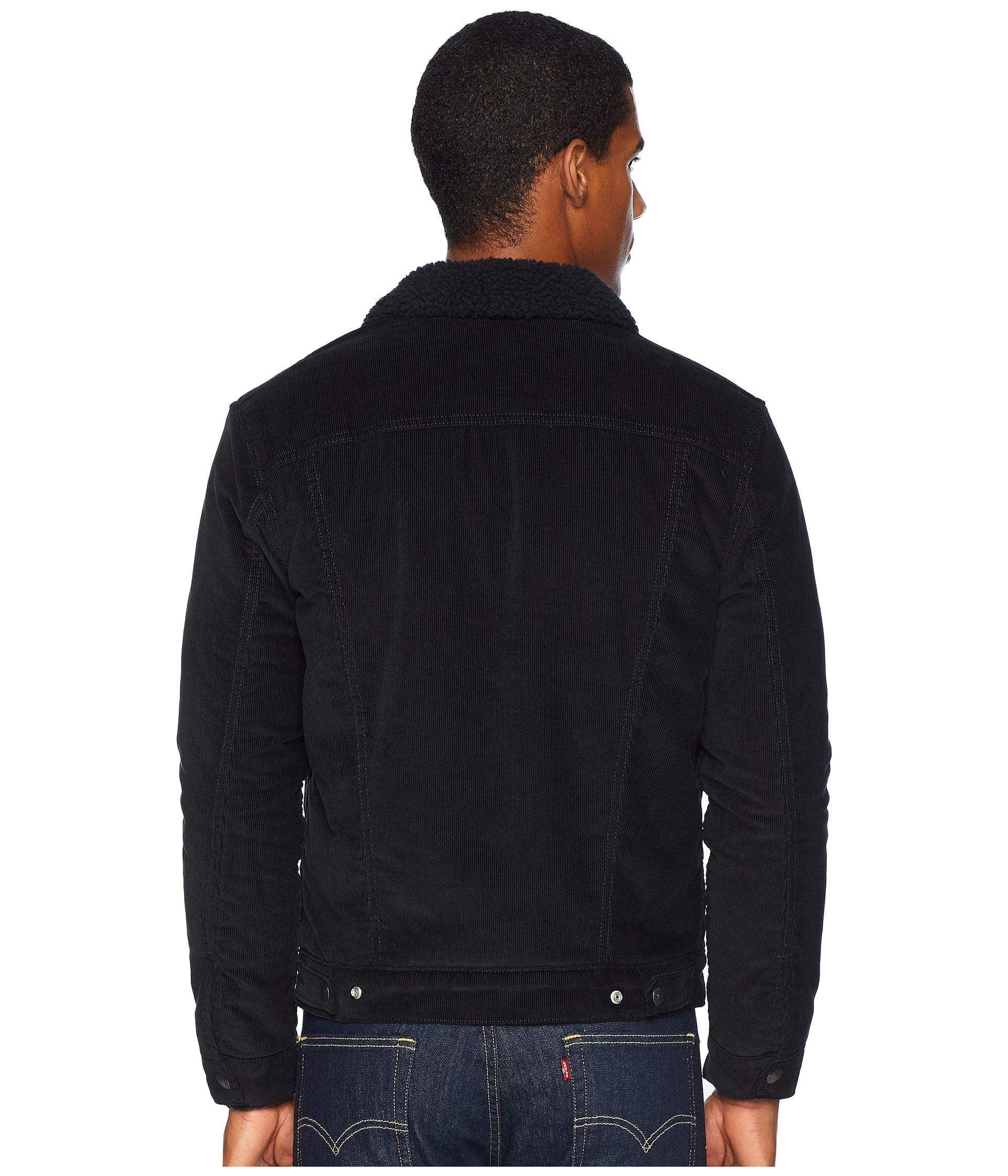 Trucker Sherpa Iii Better Cord Premium Levi's® Black Type qItBtpw4