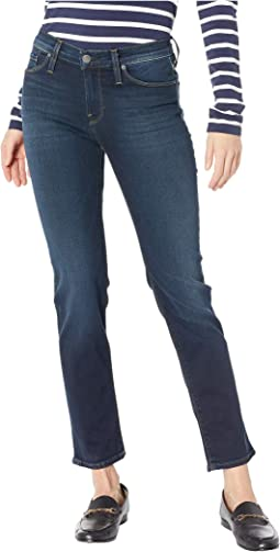 Nico Mid-Rise Cigarette Jeans in Airline Clean